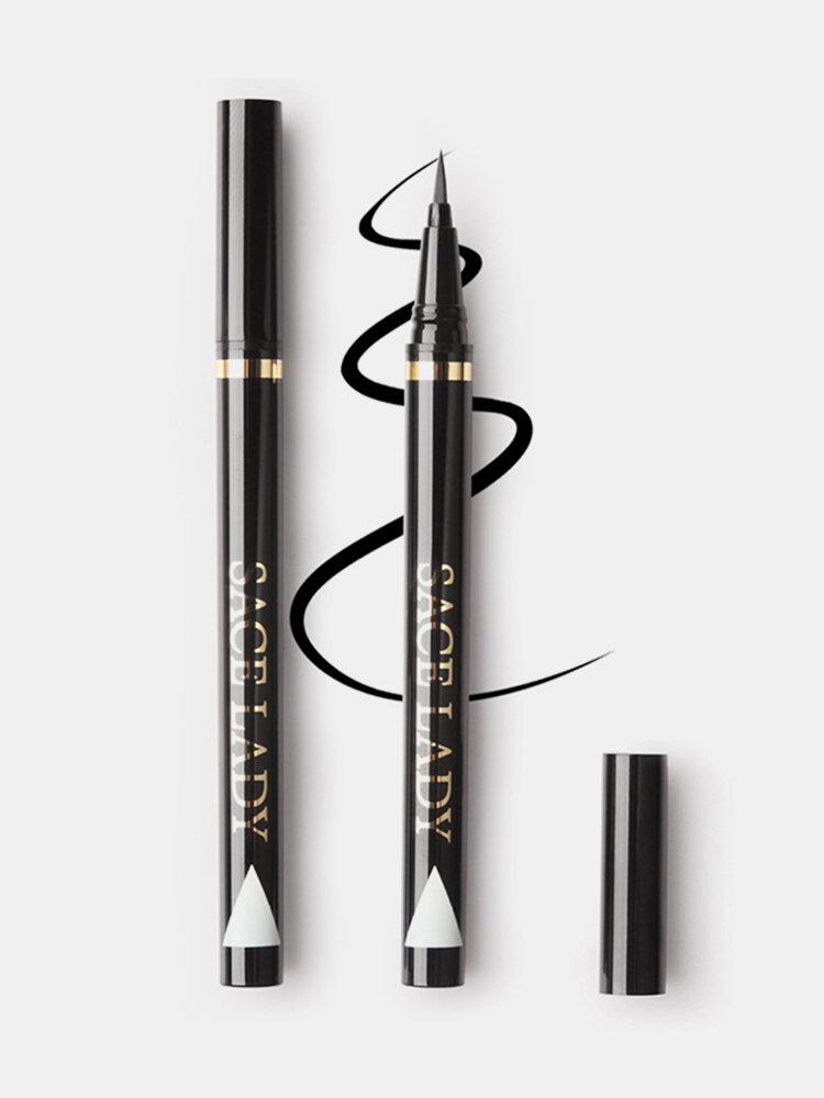 Black Liquid Eyeliner Waterproof Sweatproof Eye Liner Long-Lasting Eyeliner Eye Cosmetic