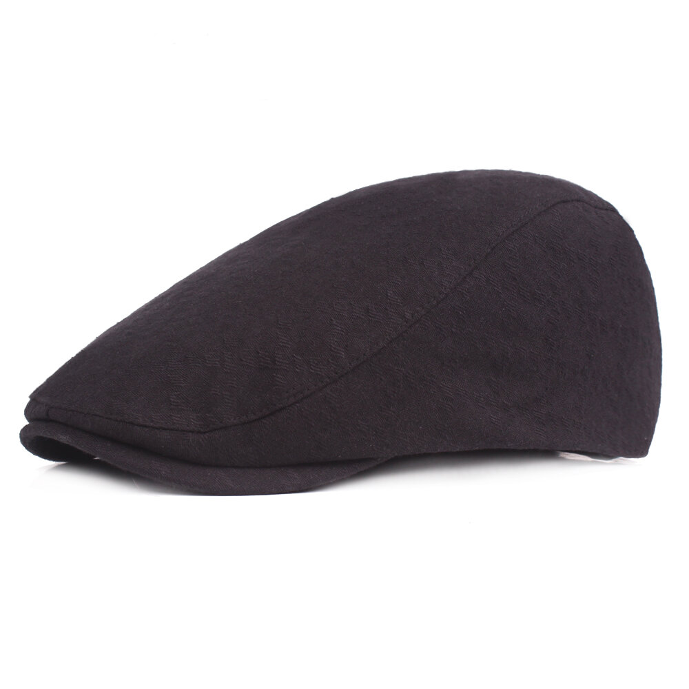 Women Mens Summer Cotton Berets Caps Casual Travel Sunscreen Visor Forward Cap
