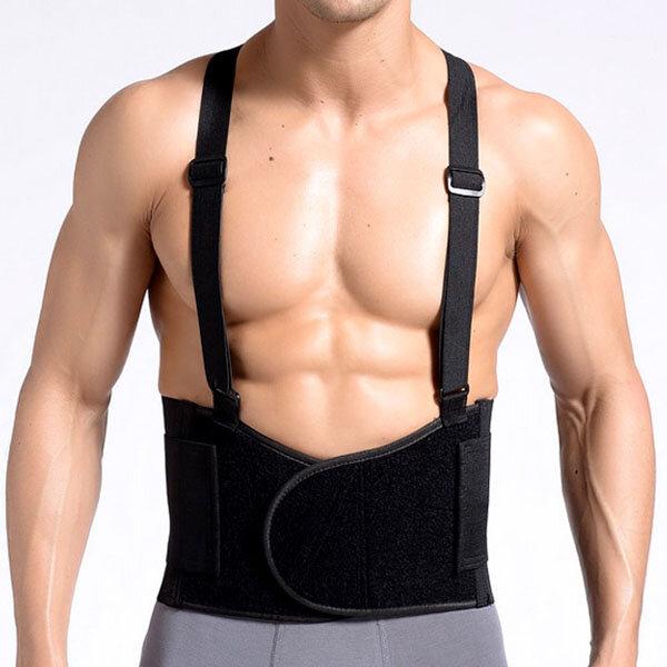 Men Adjustable Waist Support Slimming Belt High Elastic Body Tummy Shape Belt