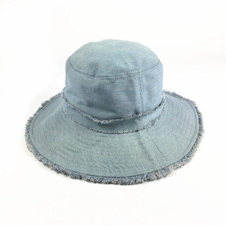 Cappello da spiaggia da mare per esterno da viaggio, da donna, in cotone, resistente all'acqua e al sole