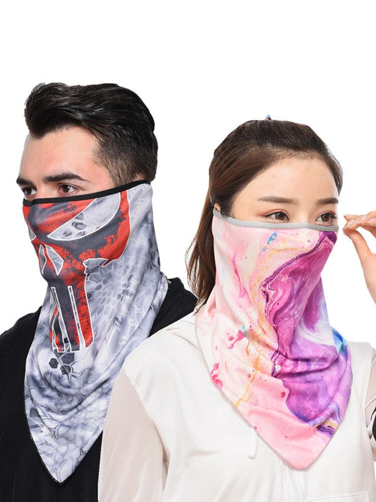 速乾性通気性乗馬マスク釣り防風日焼け止めマスク