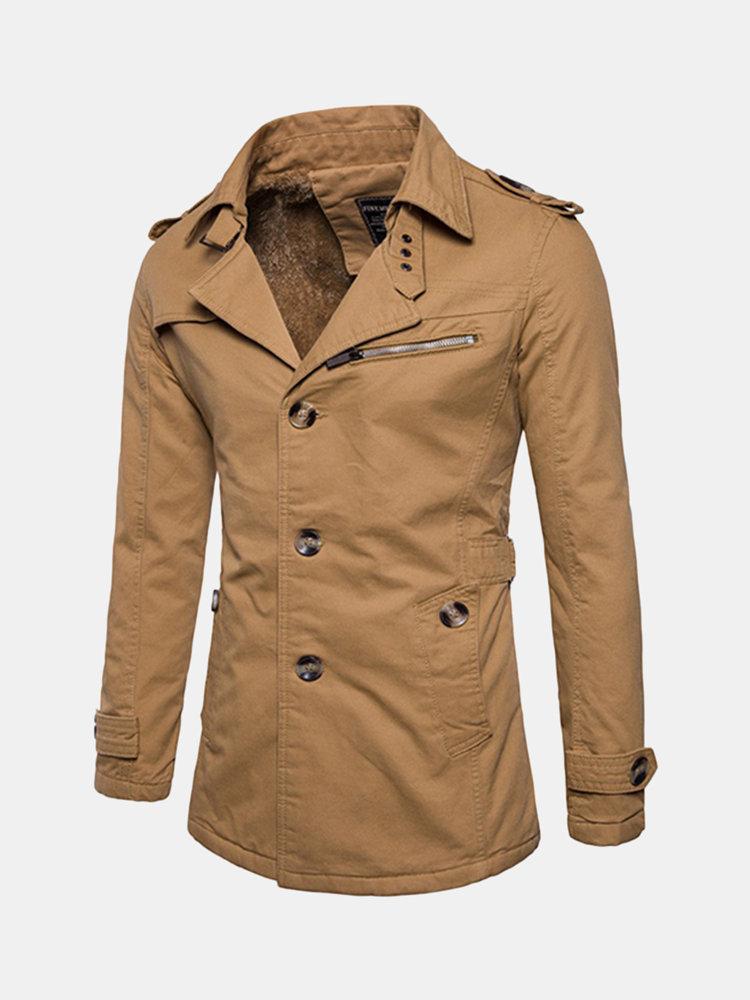 Damen braunFall wrap Mantel trend Feels beige coat CdxBWreo