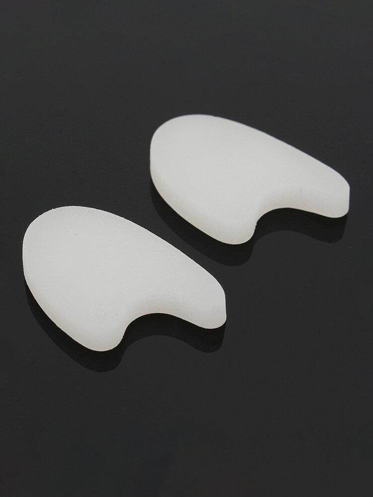 1 Pair Silicone Gel Foot Toe Separator Hallux Valgus Adjuster Alignment Bunion Thumb Protector