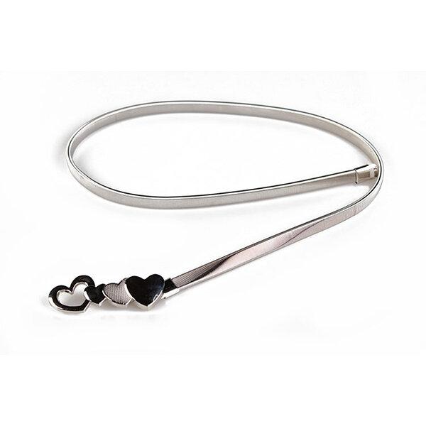 Women Fashion Jeans Dress Accessories Belt Alloy Metal Belt Solid Skinny Belt