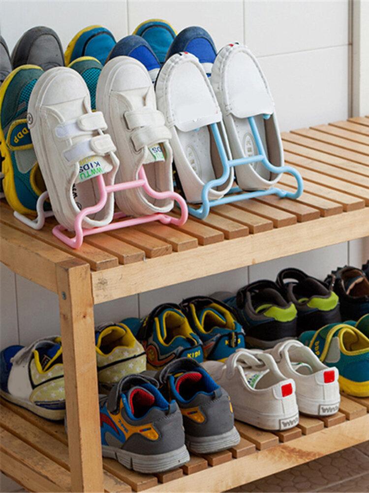 2 PCS Multifunctional Drying Shoe Rack Holder Organizer Stretcher Shoe Storage Shelf