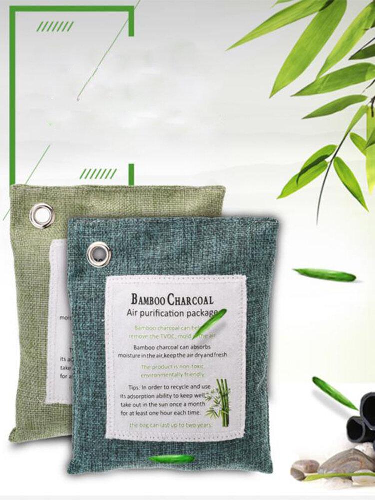 Bamboo Charcoal Package Car Deodorization Carbon Package 200g Activated Carbon car Bamboo Charcoal