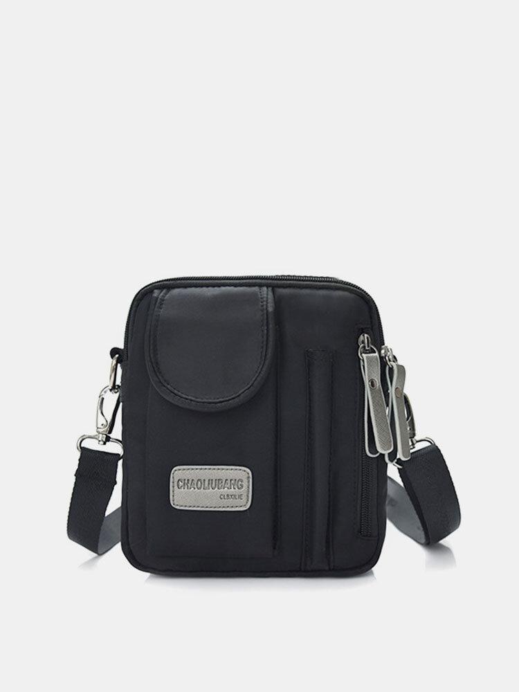 Women Oxford Crossbody Bag Square Shoulder Bag Box Bag