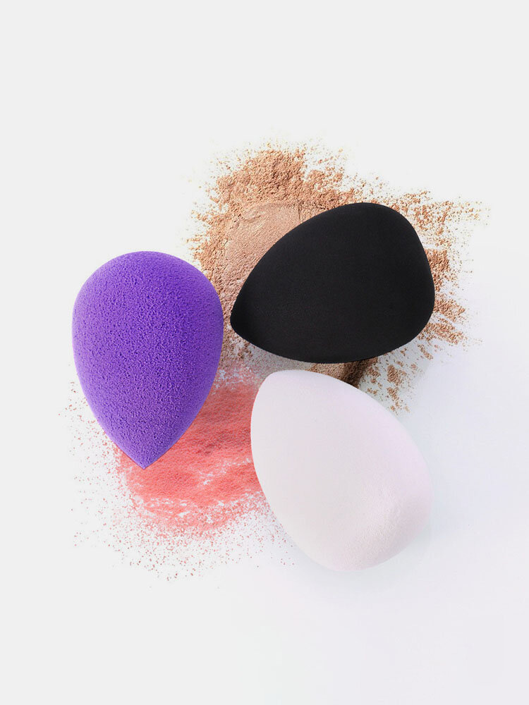 Water Droplets Sponge Puff Gourd Makeup Beauty Egg Wet And Dry Sponge Puff Face Makeup