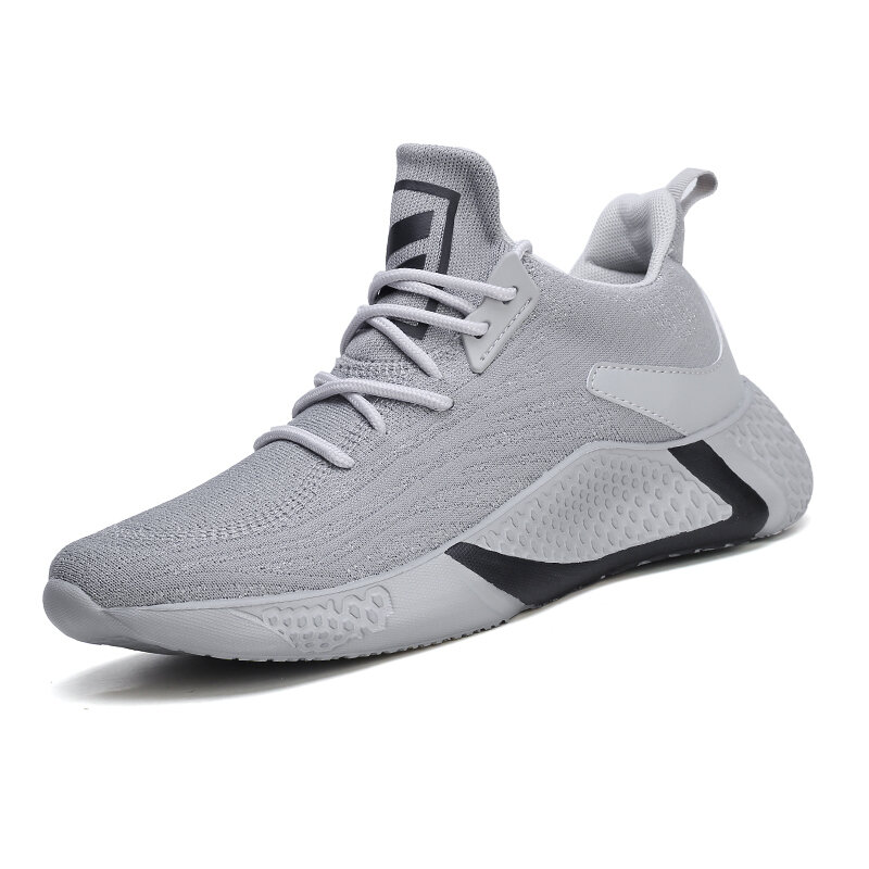 Men Fabric Breathable Sport Casual Running Sneakers