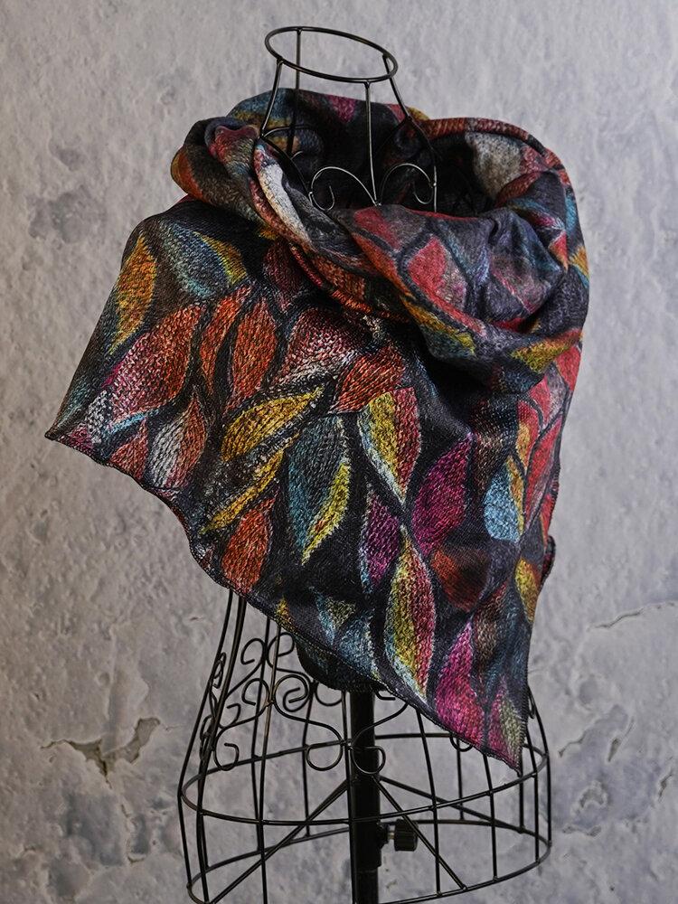 Vintage Scarves & Shawls Buttoned Crochet Wrap Pattern