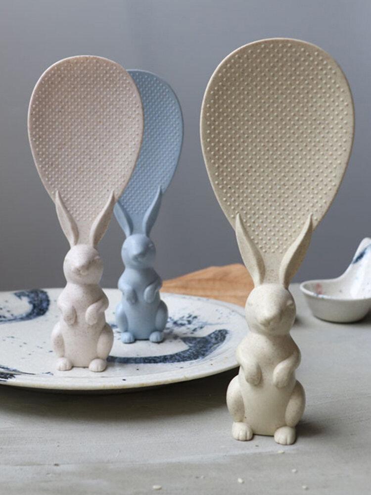 Peter Rabbit Shovel Rice Spoon Environmental Protection Material Creative Cute Rabbit Rice Spoon