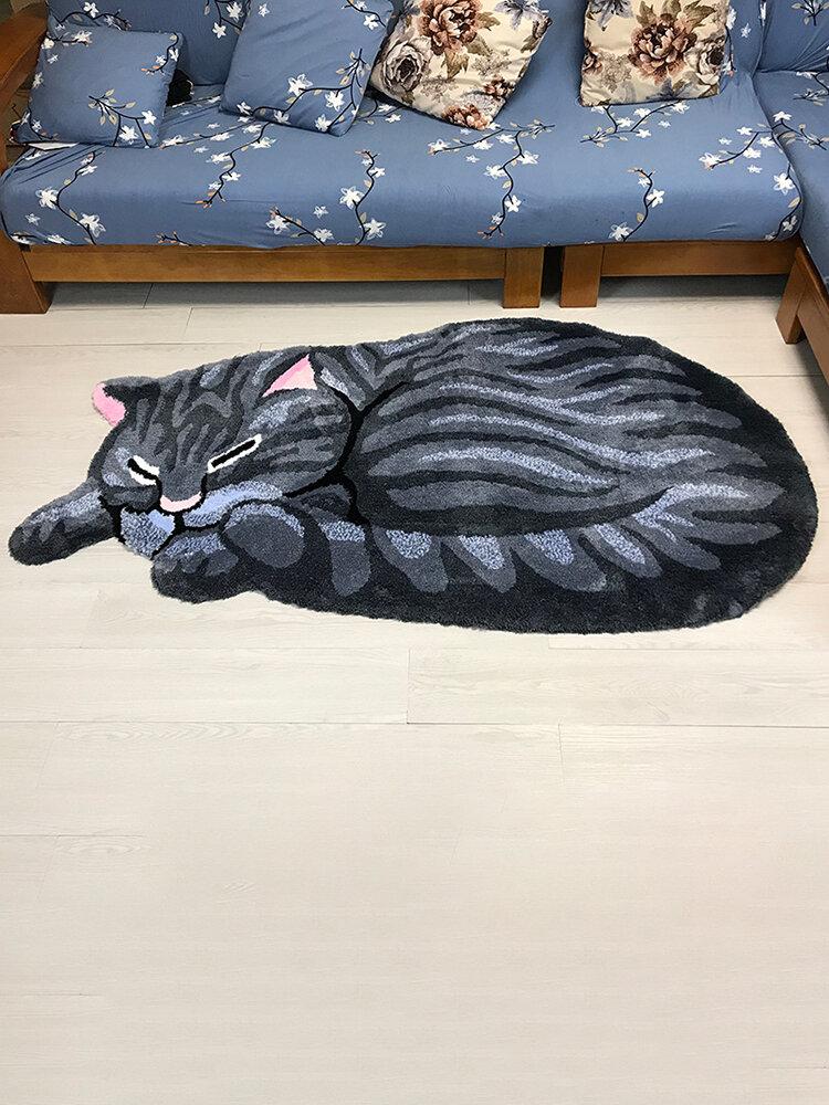 Tappeto nella porta Tappeto per gatti carino Tappetino per cucina Tappeto per camera da letto Regalo Tappetino creativo