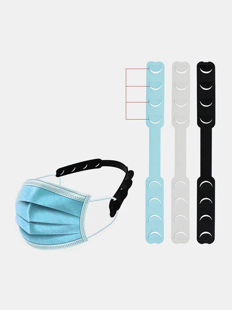 10個のフェイスマスクロープフック調節可能な延長スロット耳フック補助