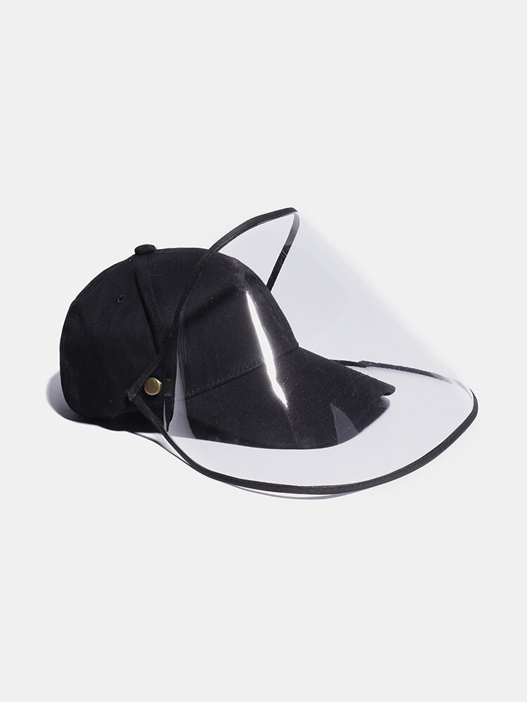 COLLROWN Unisex Lightweight Hat Anti-fog Removable Sun Visor