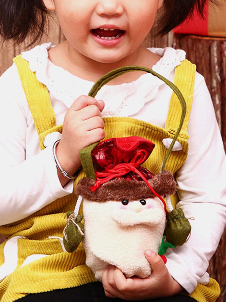 Women Christmas Candy Bag Apple Bag Handbag