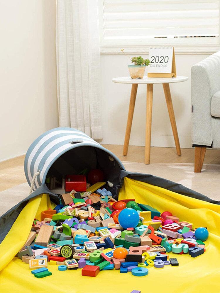 Schnelle Spielzeug-Aufbewahrungstasche Kinderspielzeug-Aufbewahrungseimer Schnelle Organisation der Aufbewahrungstasche