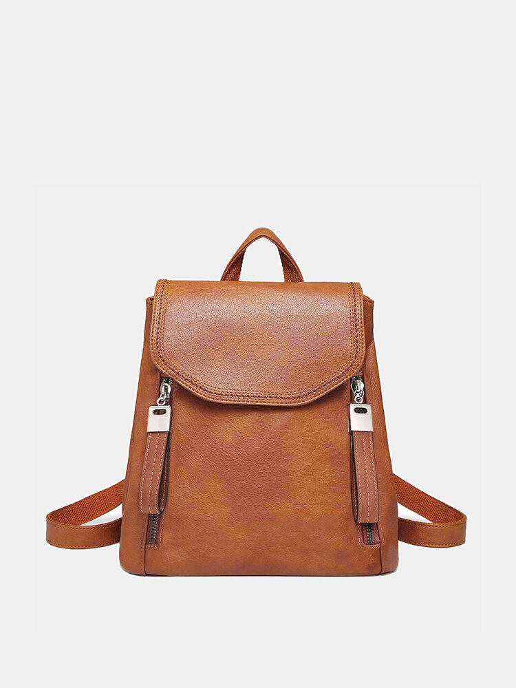 Women Anti-theft Backpack Purse Convertible Casual Bag