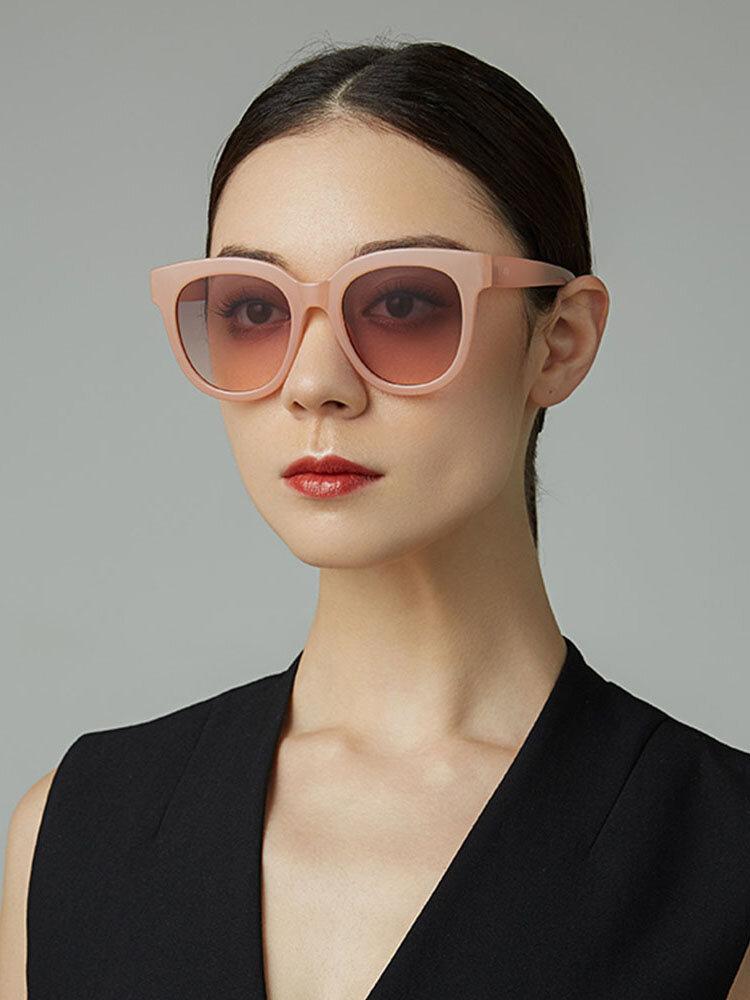 Women Vintage Classical Full Frame Round Shape Summer UV Protection Sunglasses