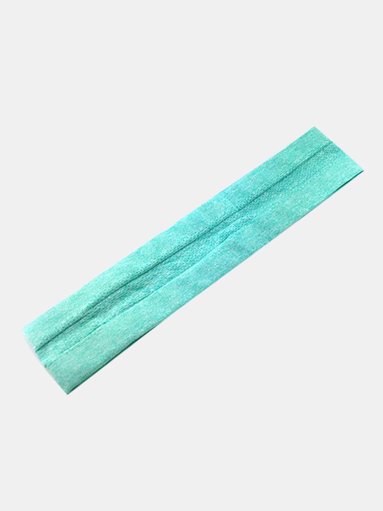 Non-slip Yoga Hair Band Elastic Broom Running Headband Sweat-absorbent