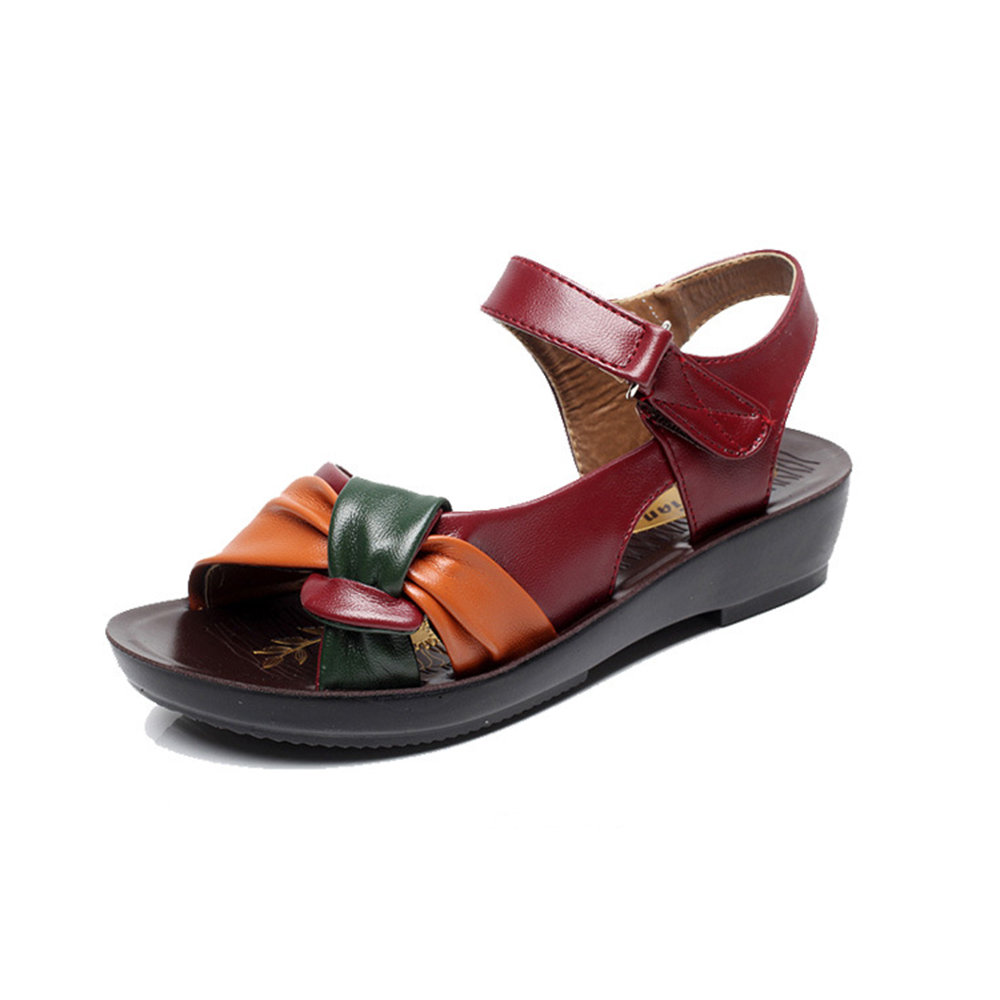 Bow Soft Flat Sandals For Women