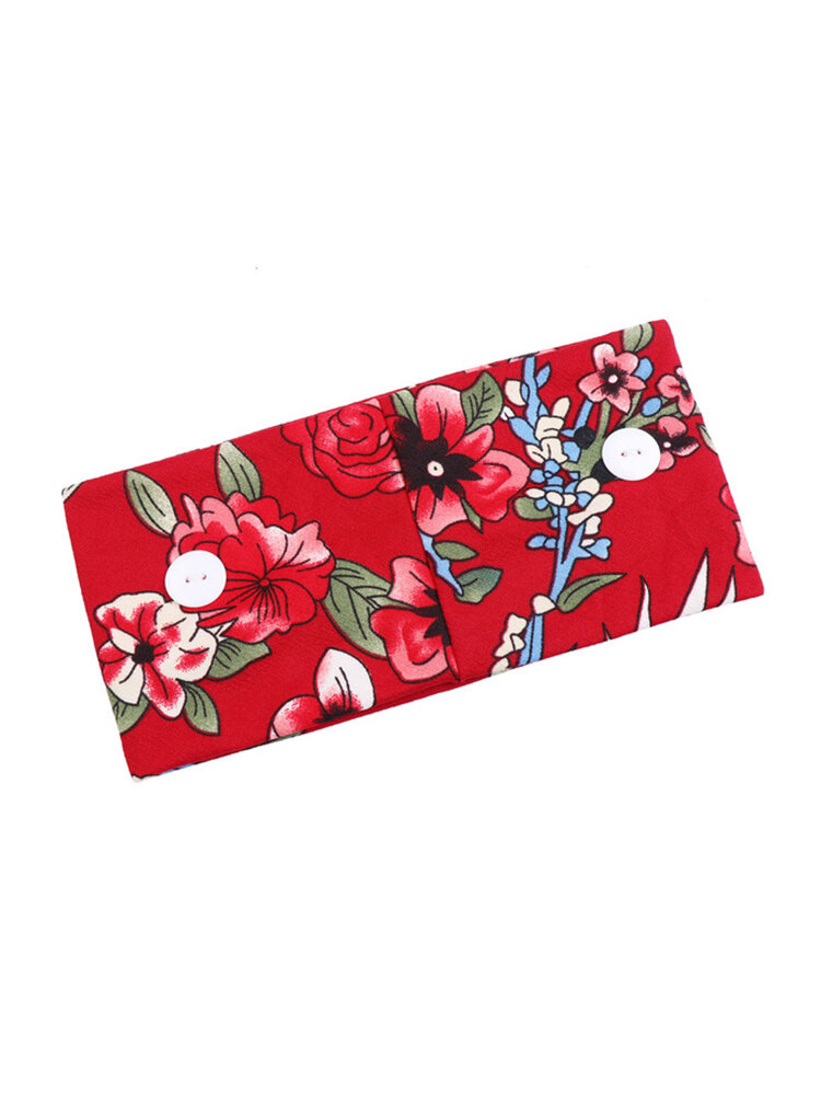Print Hair Band Headband Head Cloth Soft Elastic Heaband