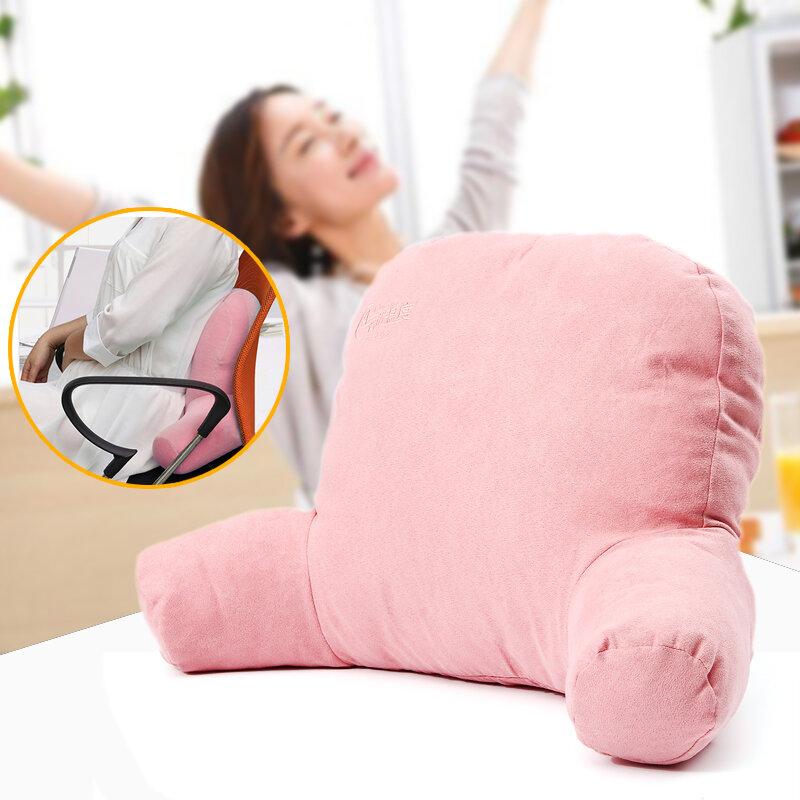 <US Instock>13.7''x5.5''x14.9 '' Riposo per letto Braccio per cuscino posteriore Soft Supporto per cuscino Sedia Camera da letto TV Relax Lettura