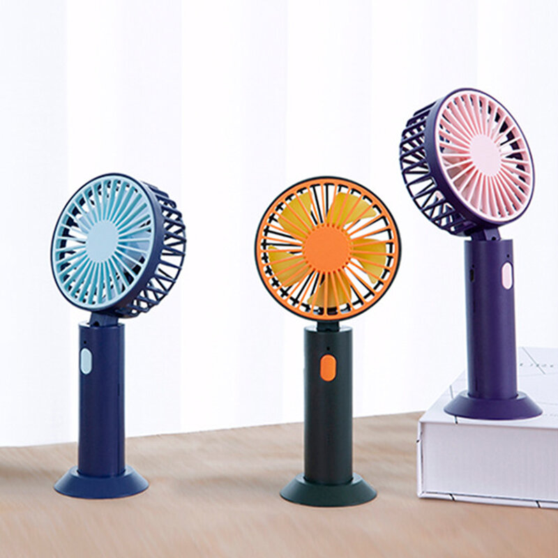 3 Gears Adjustable Small Fan Portable Handheld Travel Cooler USB Home Office Desktop Summer Cooling Air Conditioner