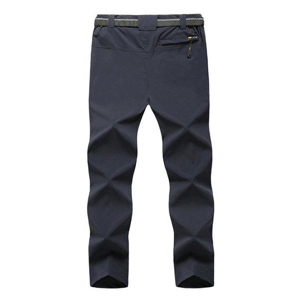 Men's Traveling Outdoor Spring Summer Thin Pants Elastic Waist Soft Shell Quick-Dry Trouser Best Online