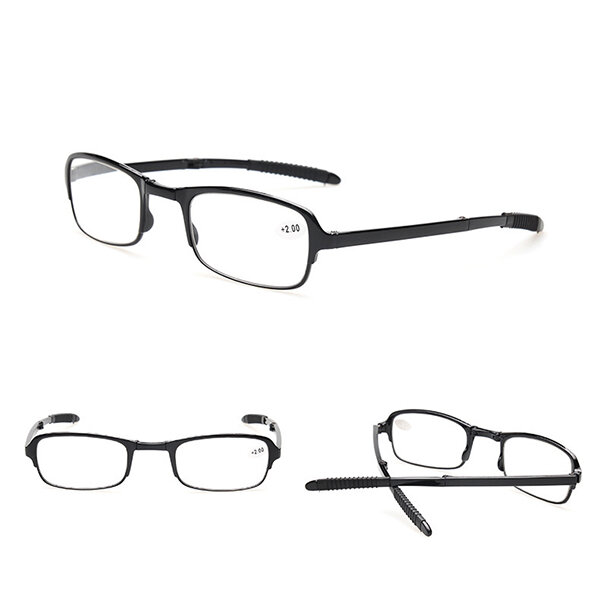 Folding Portable Reading Glasses Anti-fatigue Resin Lenses Foldable Presbyopic Eyewear, newchic  - buy with discount