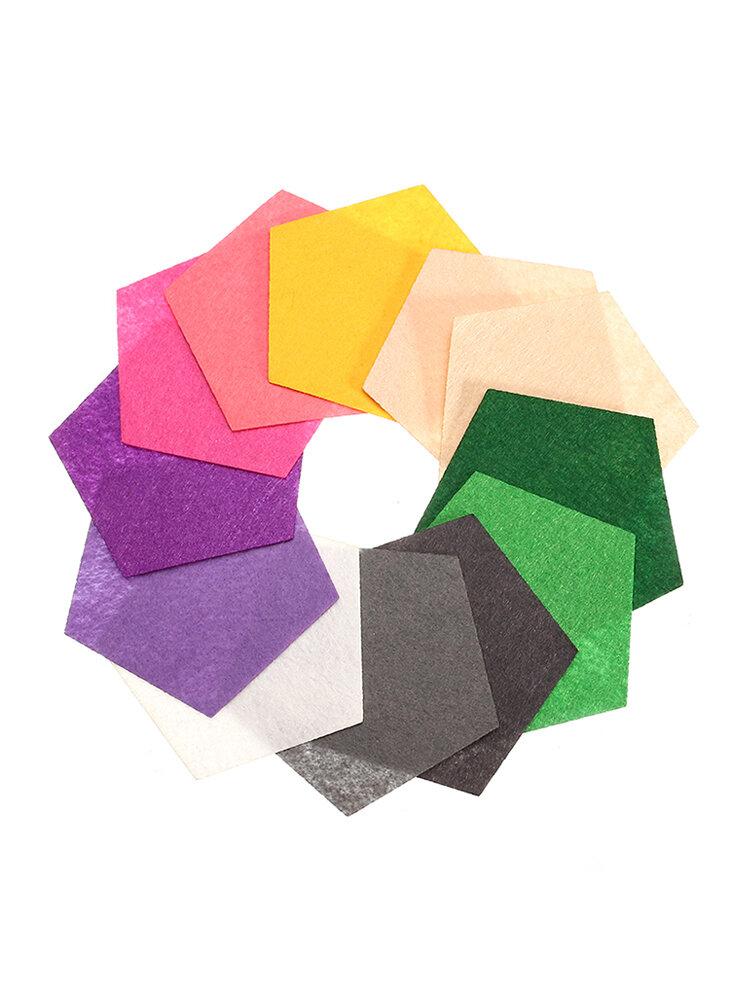 12 PCS Eco-friendly Felt Fabric Pads Accessory Patches Felt Pads Fabric Flower Accessories