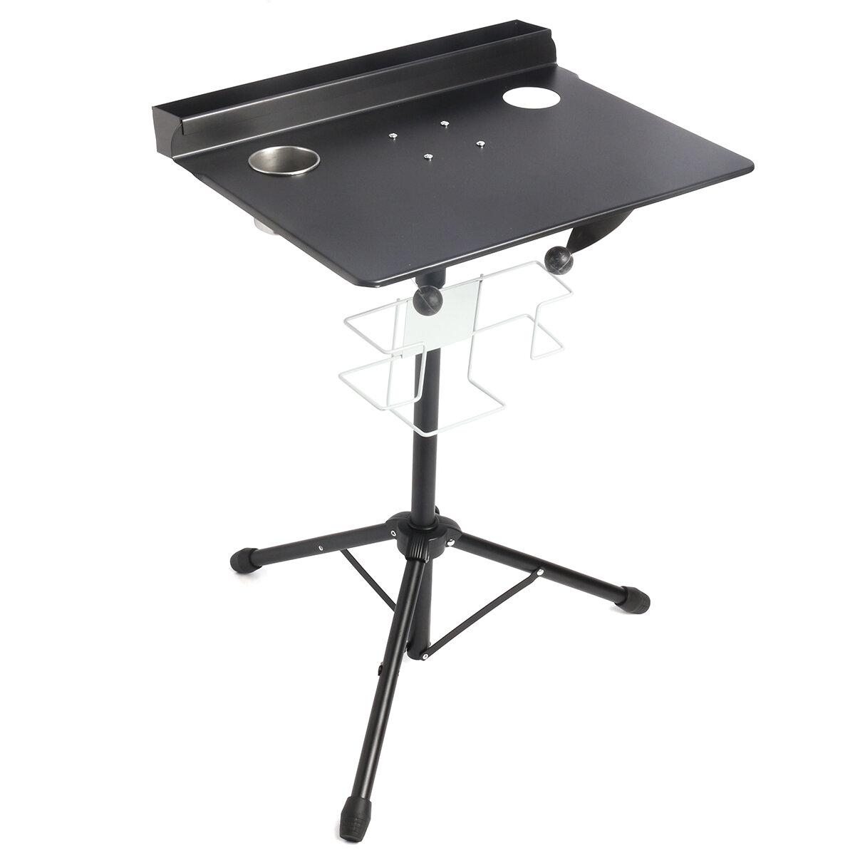 Adjustable Tattoo Work Desk Table Workstation Compact Stand Professional Station Supply