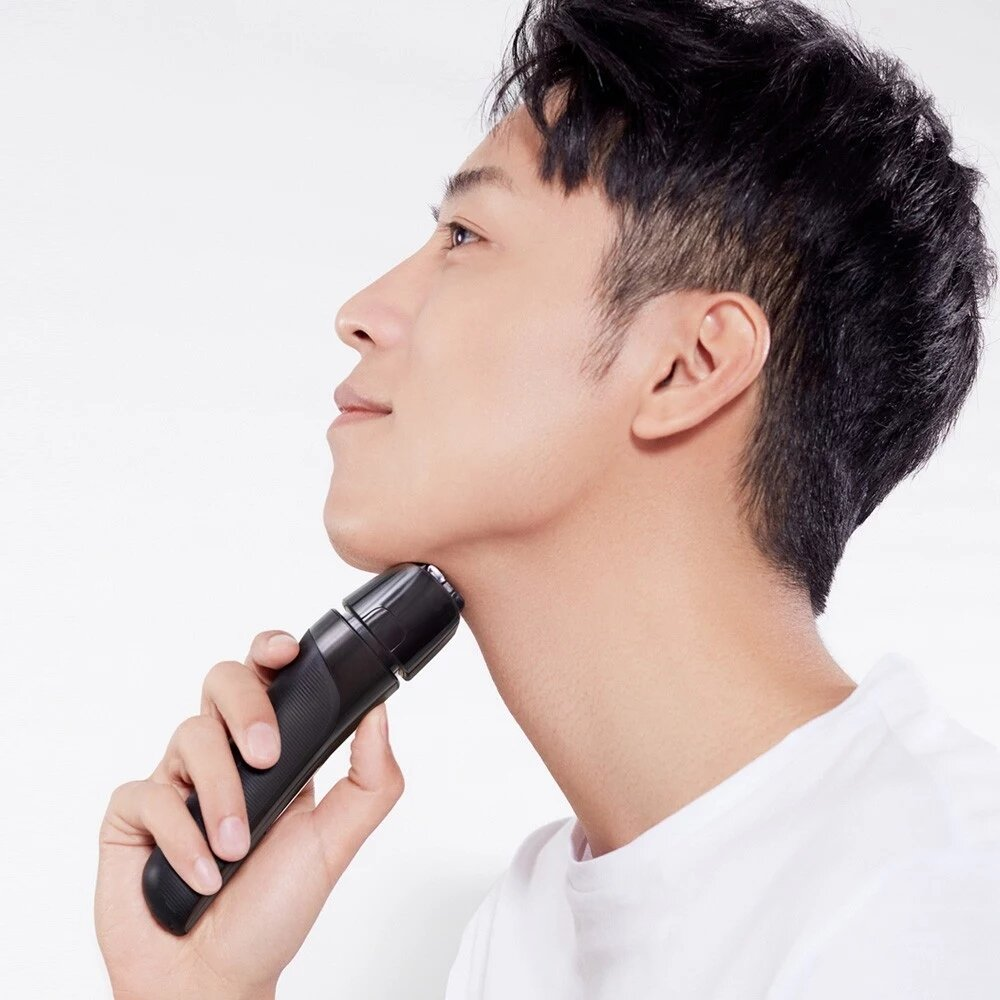 Reciprocating Electric Razor Wet-Dry Dual Use Washable Low Noise 3nute Fast Charge Shaver