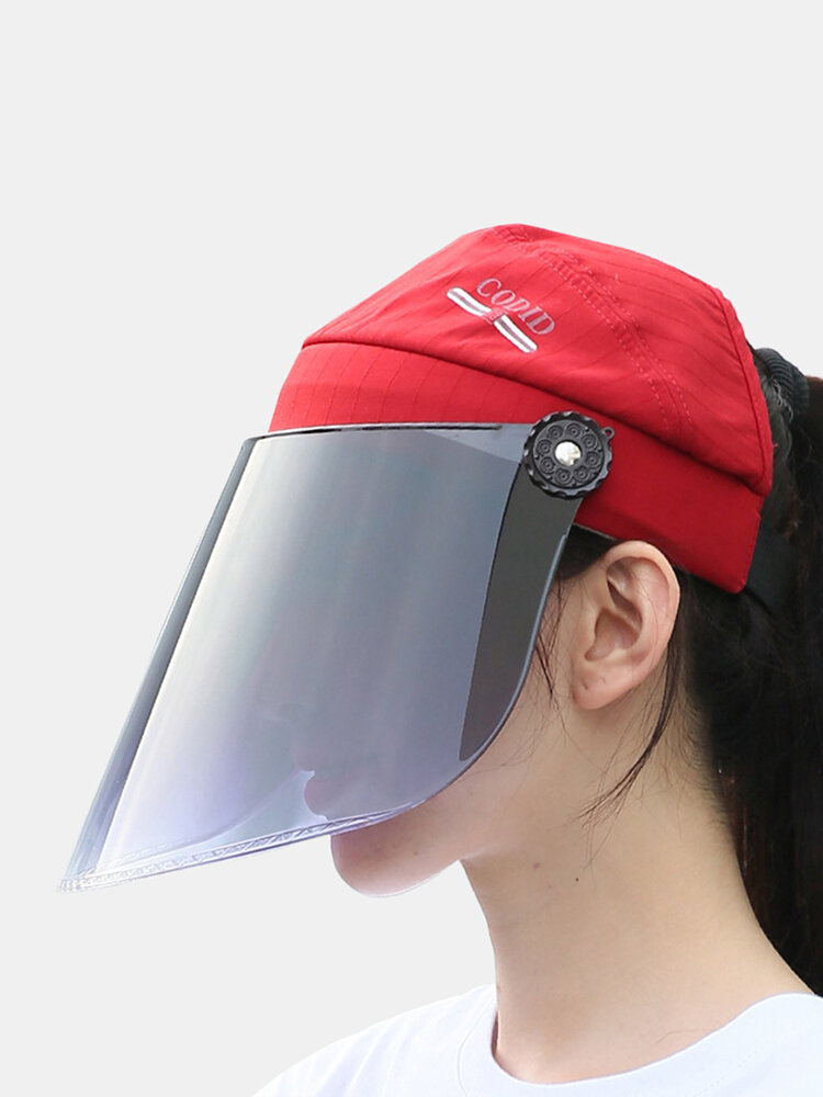 COLLROWN Women's Sun Hat Anti-UV Visor Anti-fog