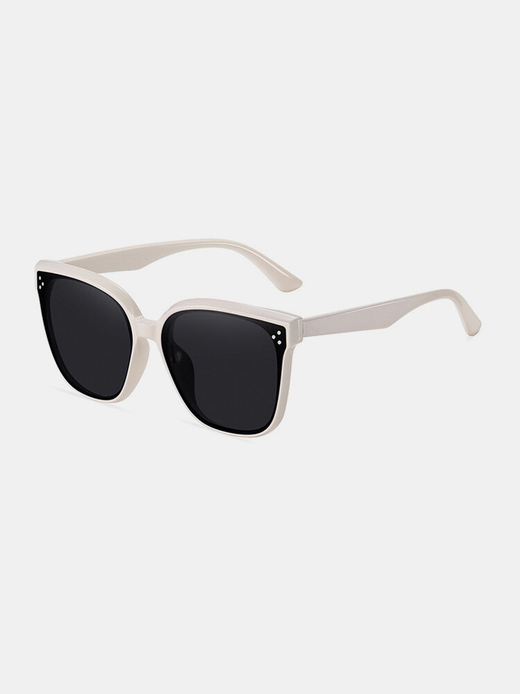 Unisex Wide Frame Fashion Outdoor Cool UV Protection Sunglasses