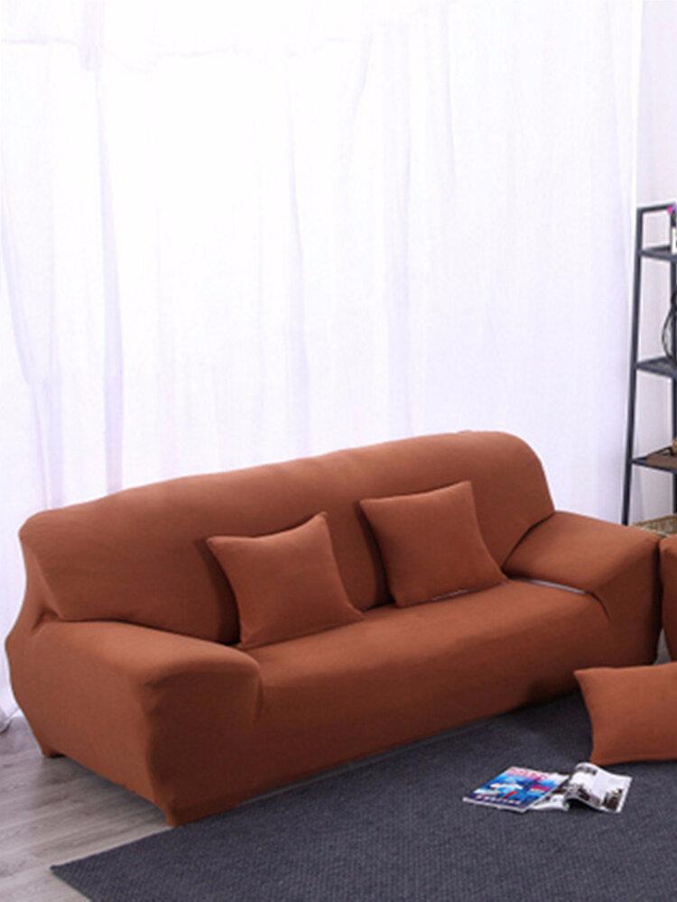 Three-seat Stretch Elastic Sofa Slipcover Pet Dog Sectional Corner Sofa Covers Furniture Protector