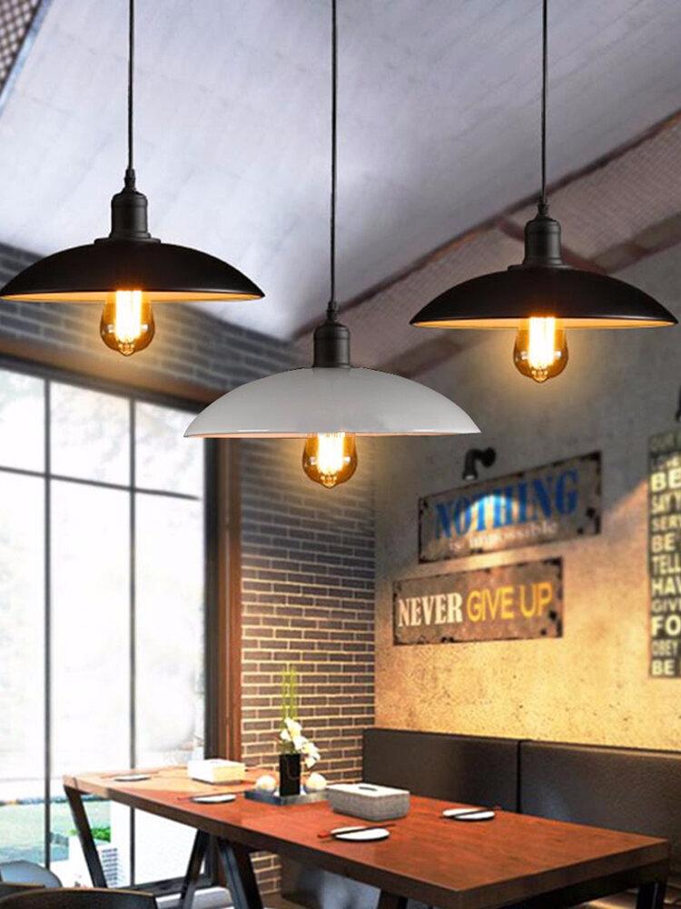 32cm Industrial Loft Vintage Ceiling Hanging Lamp Bar Living Room Coffee Shop Pendant Light