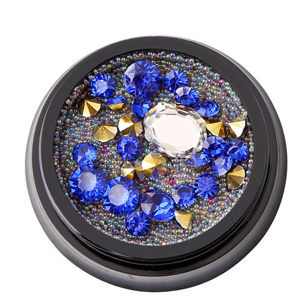 Newchic coupon: 1 Bottle Diamonds Nails Sticker Colorful Beads Crystal Nail Art Decoration