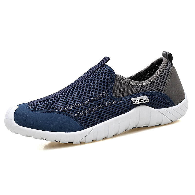 Newchic coupon: Men Mesh Breathable Outdoor Casual Sneakers