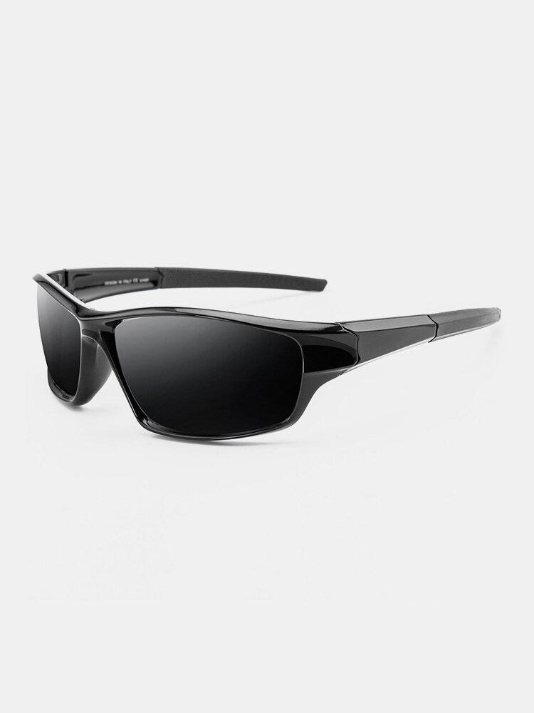 نظارات شمسية للرجال بإطار كامل مستقطب UV حماية خارجية للرؤية الليلية