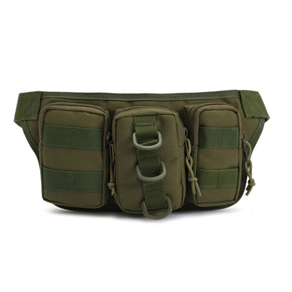Nylon Outdoor Sport Camouflage Waist Bag Multifunctional Cycling Travling Waist Bag For Men