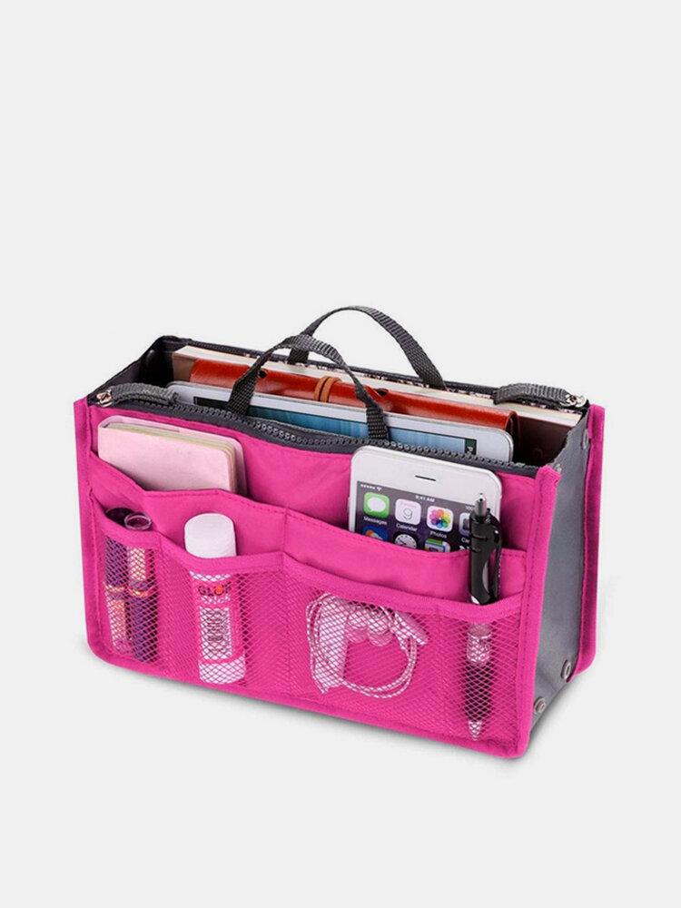 トイレタリーバッグの中の女性のナイロン多機能旅行収納バッグ