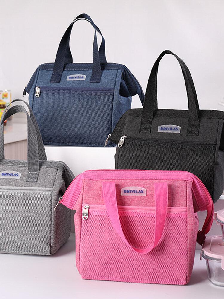 الضفدع غداء حقيبة الفم العزل متعدد الوظائف حقيبة الغداء المحمولة سعة حقيبة نزهة في الهواء الطلق