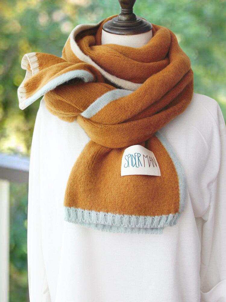 Women's Vintage Scarves & Shawls Buttoned Crochet Wrap Pattern