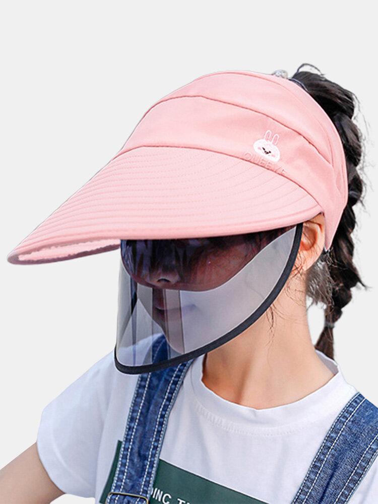 Chapeau pare-soleil amovible pour enfants COLLROWN Chapeau de soleil antibuée