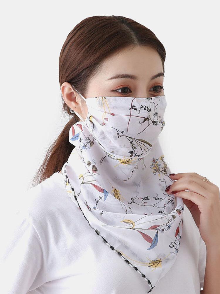 通気性の速乾性の夏の屋外の乗馬マスク印刷ネックプロテクター日焼け止めスカーフマスク