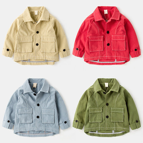 994f32f7c Infant Boy Cotton Jackets Spring Autumn Toddler Tops Baby Boys Long Sleeve  Jackets Clothing{ On Sale - NewChic