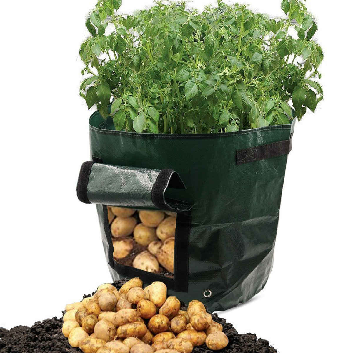 50l Large Capacity Potato Grow Planter Pe Container Bag Pouch