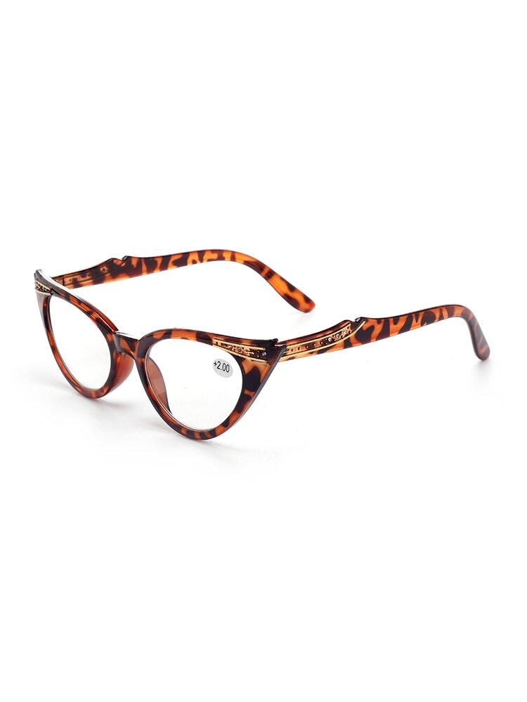 Women Reading Retro Glasses Fashion Wear-resistant Computer Cat Presbyopic Glasses