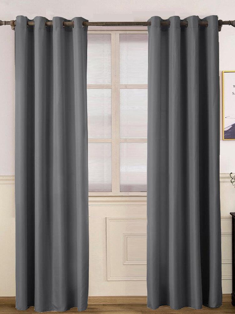 Простые цветные шторы Спальня Простые шторы Эркер Балкон Марлевые полупрозрачные занавески