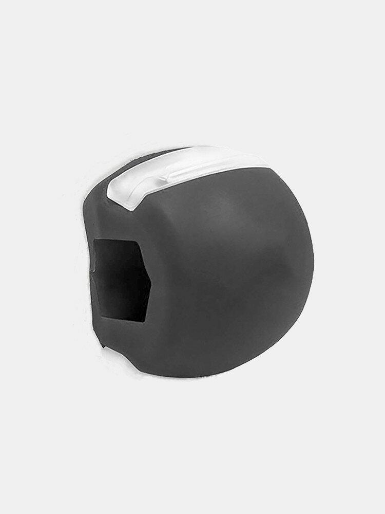 1Pc Muskeltrainingsball Silikon-Kauball Muskelformendes Kiefer-Trainingsgerät